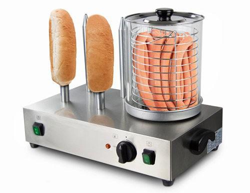 Hot Dog Maker / mit 4 Spießen
