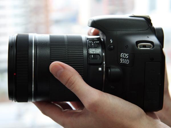 Canon 550d 18-135 Spiegelreflex