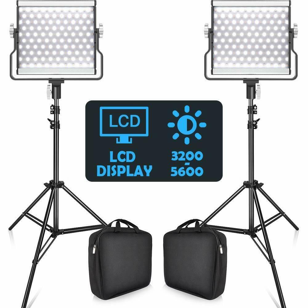 LED Leuchten Set für Foto, Video und kleine Bühne