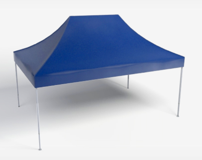 Faltpavillion 4,5x3m Blau