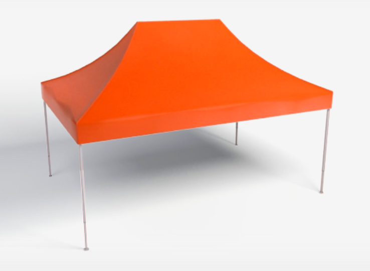 Faltpavillion 4,5x3m Orange